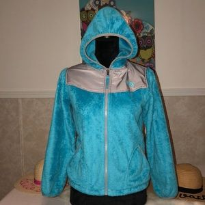 The North Face Fuzzy Jacket Girls L 14/16 W XS